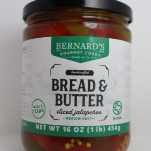 Bread and Butter Jalapenos
